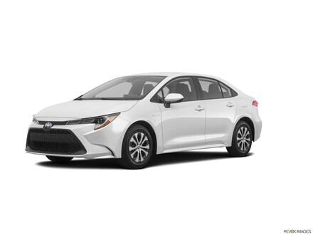 New 2020 Toyota Corolla Hybrid LE Sedan for Sale or Lease in Englewood Cliffs, NJ