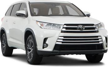Toyota Highlander Front Right Angle