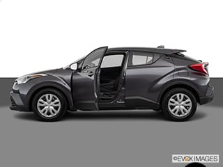 New 2019 Toyota C-HR LE silver knockout exterior black interior 20l i-4 cyl Stock 32244 VIN