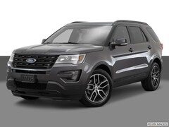 New 2017 Ford Explorer Sport SUV 1FM5K8GT9HGE02550 in Rochester, New York, at West Herr Ford of Rochester