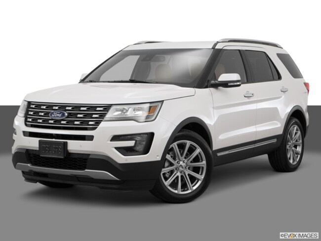 Used 2017 Ford Explorer Limited SUV in El Paso, TX