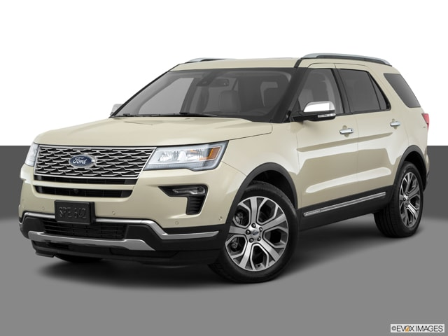 2018 Ford Explorer Platinum SUV 1FM5K8HTXJGB10197