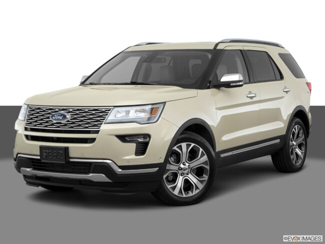 New 2018 Ford Explorer Platinum SUV for sale in Hamburg, NY