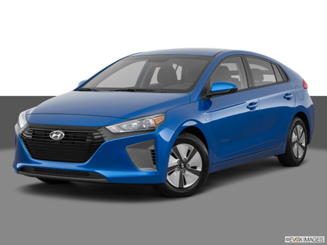 New 2018 Hyundai Ioniq Hybrid Blue Hatchback Logan, UT