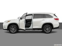 New 2019 Toyota Highlander XLE V6 SUV in Easton, MD