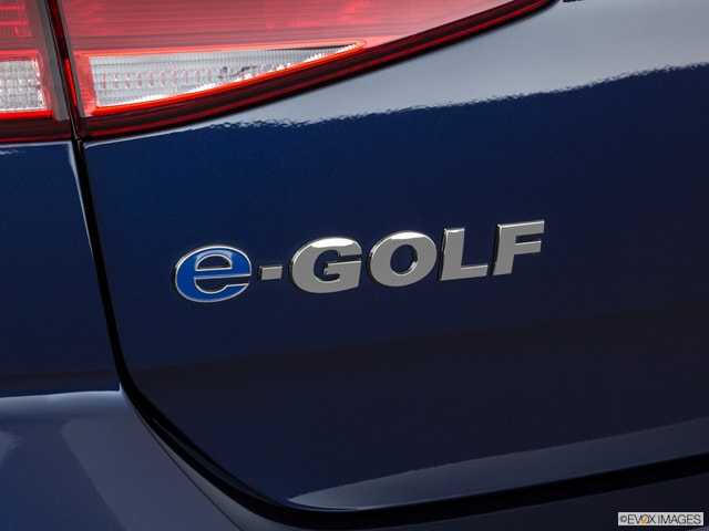Volkswagen e-Golf Badge