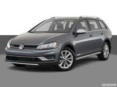 New 2019 Volkswagen Golf Alltrack TSI SE 4MOTION Wagon in Indianapolis