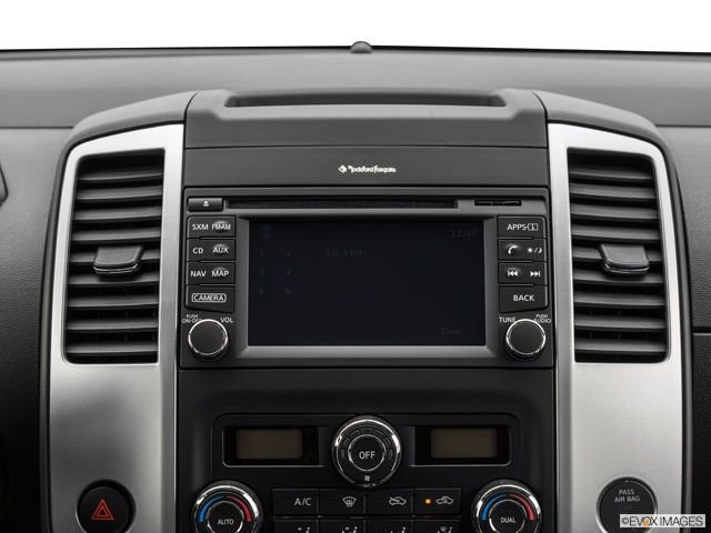 Nissan Frontier Center Console