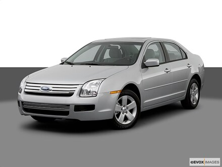 2007 Ford Fusion S I4 Front-wheel Drive Sedan