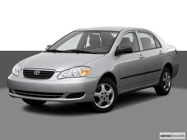 2007 Toyota Corolla LE Sedan 4D Car
