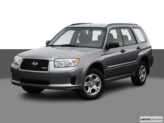 2007 Subaru Forester X AWD  H4 AT X