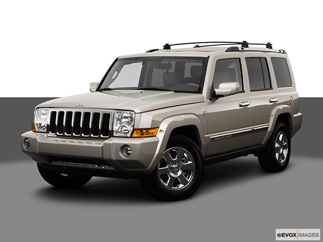 2008 Jeep Commander Limited Station Wagon 8