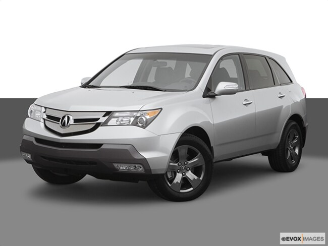 Discounted bargain used vehicle 2008 Acura MDX 3.7L Technology Package SUV for sale near you in Roanoke, VA