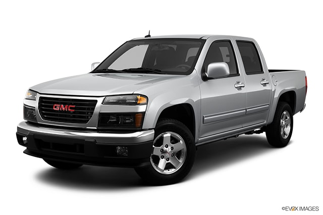 compare 2012 gmc canyon