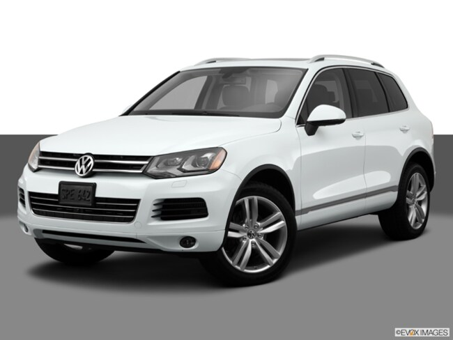 Pre-Owned 2014 Volkswagen Touareg 3.6L SUV for sale in Billings, MT