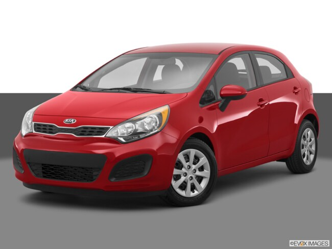 Used 2014 Kia RIO LX HATCHBACK for sale in Lowell MA