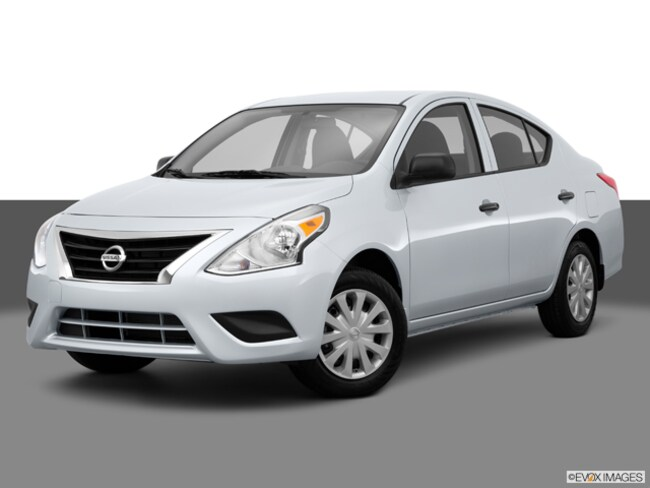 2015 Nissan Versa 1.6 S Germain Value Vehicle Sedan
