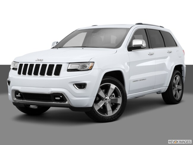 Used 2015 Jeep Grand Cherokee 4WD Overland SUV in Exeter, NH