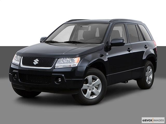 2008 Suzuki Grand Vitara Base w/Hard Spare Tire Cover SUV