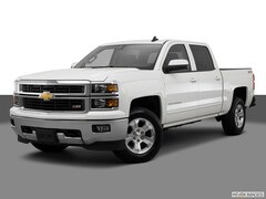 Used 2015 Chevrolet Silverado 1500 4WD Crew Cab LT Truck 3GCUKREC2FG464754 for sale in Conroe TX near Houston