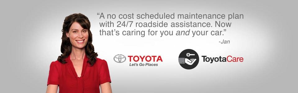 Toyotacare Roadside Assistance Number >> Toyotacare 24 7 Roadside Assistance Available At Elgin Toyota