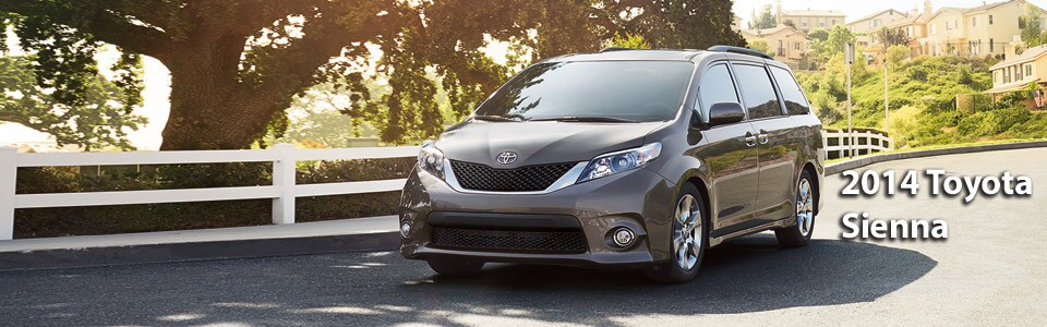 About The 2014 Toyota Sienna
