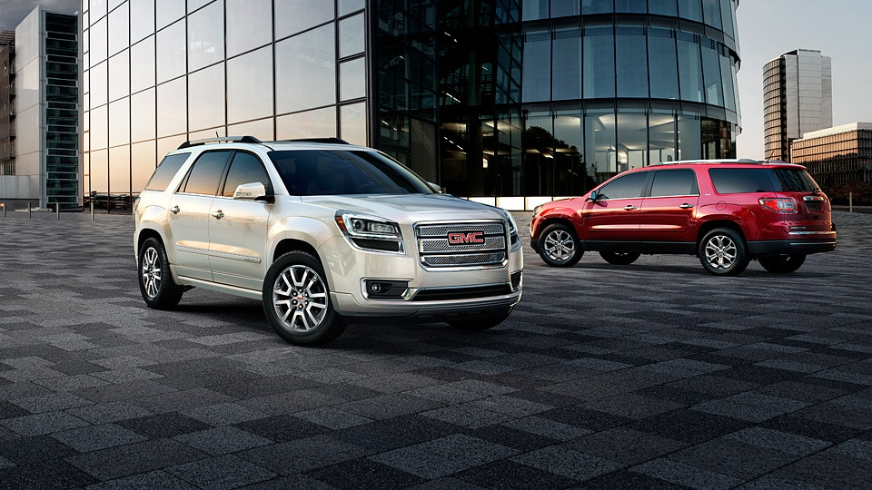 GMC Acadia advantages over the competition