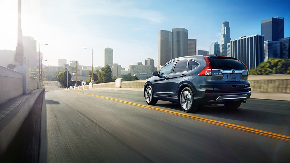 The 2015 Honda Cr-V Driving