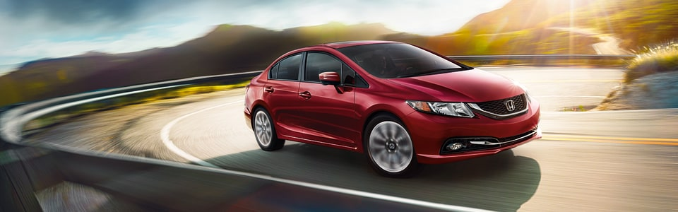 Test Drive a New Honda Civic at Auburn Honda near Sacramento CA