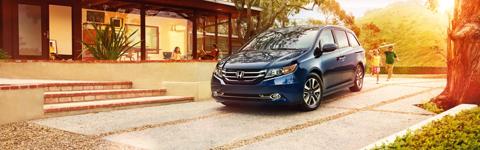 Test drive a new Honda Odyssey right now at Ocean Honda near Salinas CA