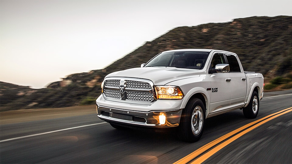 2014 white Ram 1500 truck in Anchorage, AK