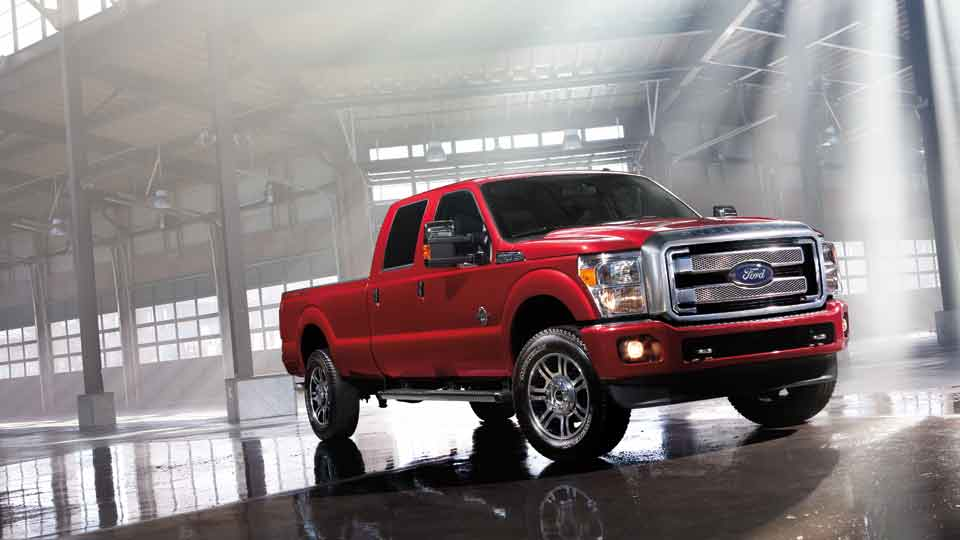 Ford Super Duty Pick-Up Truck