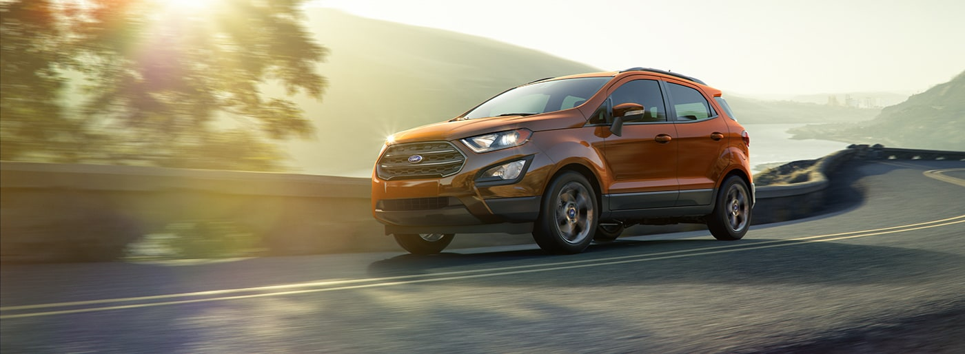 New 2018 Ford Ecosport in Texas