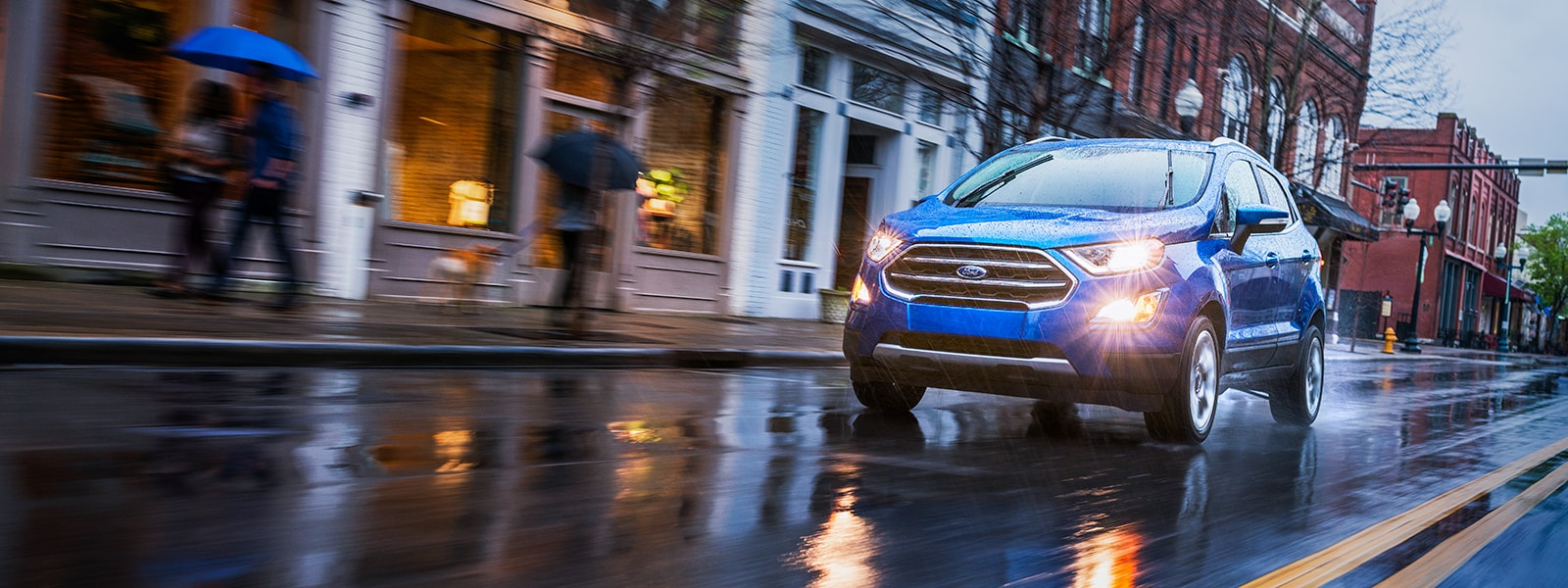 2018 Ford EcoSport Driving in the Rain