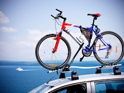 Subaru THULE Roof Bike Rack