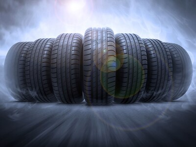 Tires special for the month of April for Volvo customers