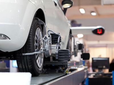 Four Wheel Alignment with the purchase of Four Tires