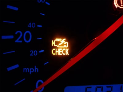 Check Engine Light Service Special