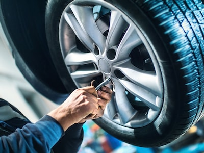 Free Tire Rotation with any Factory Maintenance Service