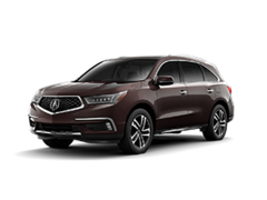 New 2017 Acura MDX SH-AWD with Advance and Entertainment Packages SUV in the Bay Area