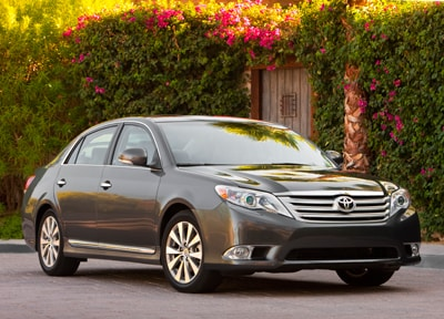 Compare 2012 toyota avalon