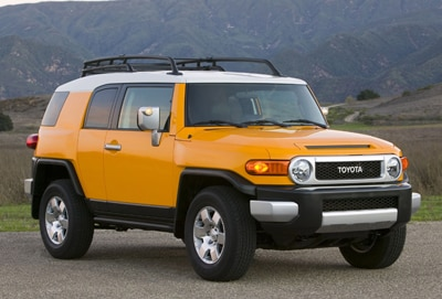 2012 Toyota FJ Cruiser of [Company  City]