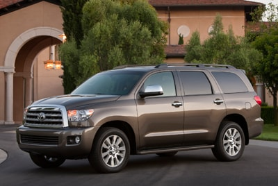 Compare 2012 toyota sequoia