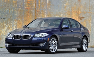 2012 BMW 5 Series Introduction