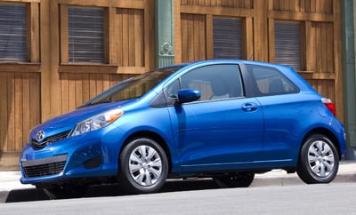 2012 Toyota Yaris Introduction