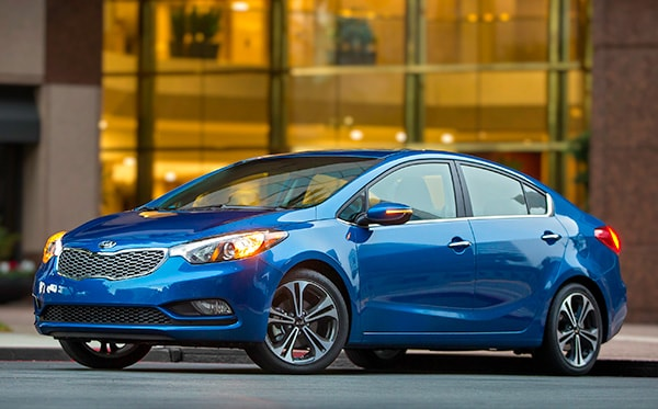 Kia Forte Is All New For 2014. The 2014 Kia Forte Was Launched As A  Four Door Sedan, While The 2014 Forte 5 Door Hatchback Joins The Lineup  Late In The ...