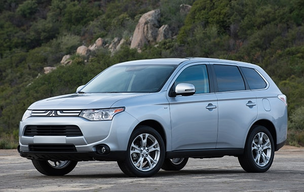 Review Introduction Mitsubishi Outlander Amarillo
