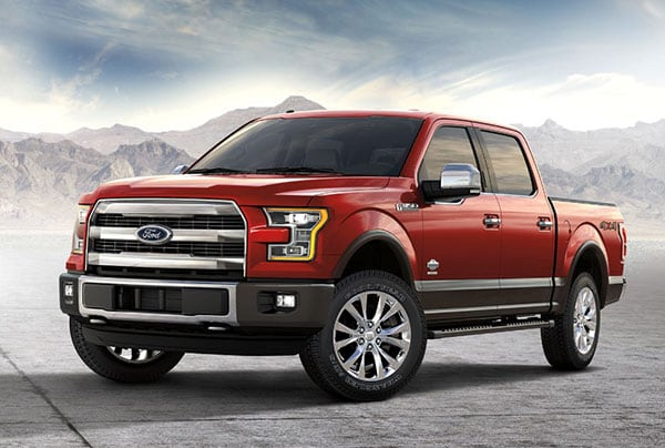 The  Ford F  Is The Most Innovative Of The Full Size Pickups The  Lineup Offers A Completely New Powertrain Option In The Form Of A