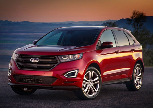 The Ford Edge Crossover Suv Fits Between The Compact Escape And The Large Midsize Explorer Now In Its Second Generation Redesigned For The  Model Year