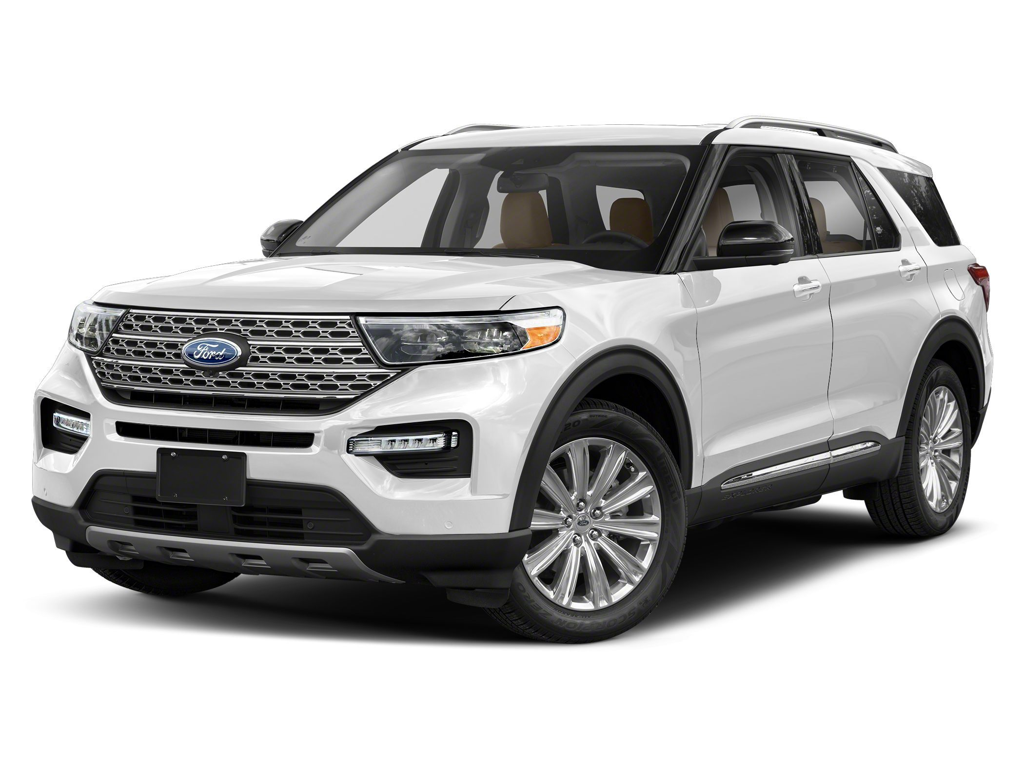 new 2021 Ford Explorer car, priced at $50,785